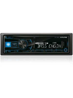 Alpine, UTE-80B USB MP3/WMA/AAC magnetola